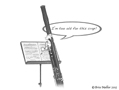 Bassoon, cartoon, The French Art Studio, Brice Mallier